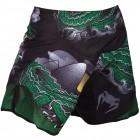 Шорти - Venum Crocodile Fightshorts - Black/Green