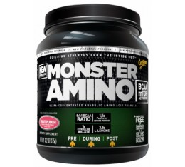 CytoSport - Monster Amino / 375 gr Хранителни добавки, Аминокиселини, Разклонена верига (BCAA), Комплексни аминокиселини
