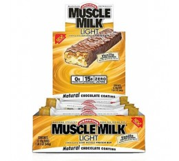 CytoSport - Muscle Milk Light Bar Box / 12 bars x 45 gr