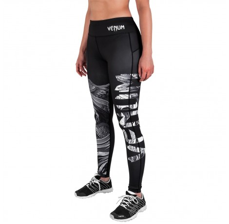 Дамски дълъг клин - Venum Phoenix Leggings - Black/White