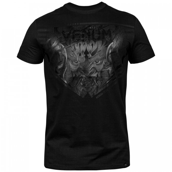 Тениска - Venum Devil T-shirt - Black/Black​