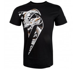 Тениска - Venum Giant X Dragon T-Shirt - Black / White Тениски