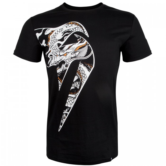 Тениска - Venum Giant X Dragon T-Shirt - Black / White
