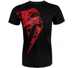Тениска - Venum Giant X Dragon T-Shirt - Black / Red Тениски