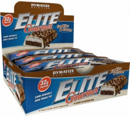 Dymatize - Elite Gourmet Protein Bar Box / 12 x 85 gr