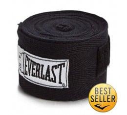 Everlast - Бинт черен - 2.75 метра Бойни спортове и MMA, Бинтове