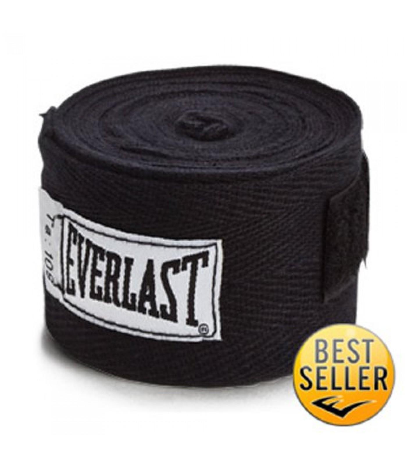 Everlast - Бинт черен - 4.60 метра