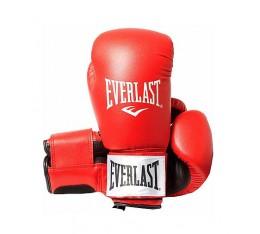 Everlast - Боксови ръкавици - изкуствена кожа RED
