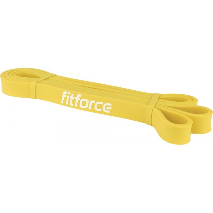 FitForce - Ластична лента за упражнения - Жълта - 25 кг