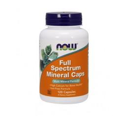 NOW - Full Spectrum Minerals / 120 caps. Хранителни добавки, Витамини, минерали и др.