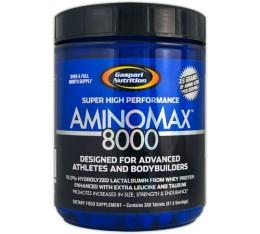 Gaspari - AminoMax 8000 / 350 tab. Хранителни добавки, Аминокиселини, Комплексни аминокиселини, Хранителни добавки на промоция