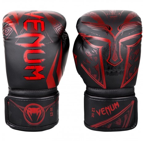 Боксови ръкавици - Venum Gladiator 3.0 Boxing Gloves - Black/Red