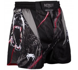 Шорти - Venum Grizzli Fightshorts - Black/White​ Къси гащета
