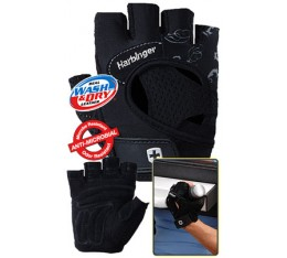 Harbinger - Дамски фитнес ръкавици - FlexFit - Черни Фитнес аксесоари, Дамски ръкавици за фитнес