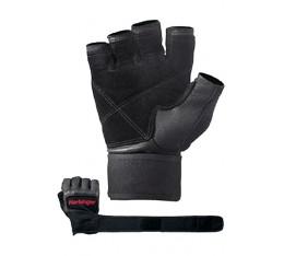 Harbinger - Фитнес ръкавици Pro с накитници - черен цвят Фитнес аксесоари, Мъжки ръкавици за фитнес