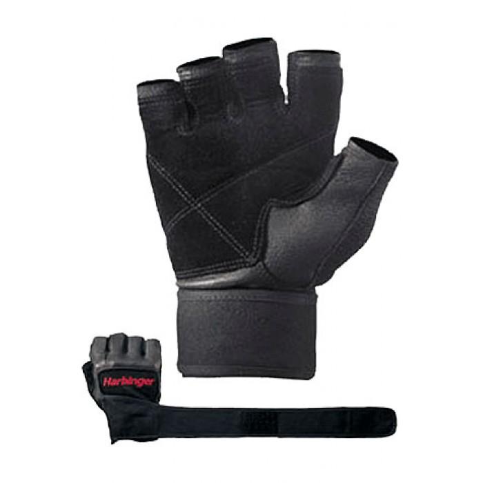 Harbinger - Фитнес ръкавици Pro с накитници - черен цвят
