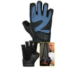 Harbinger - Training Grip - черно/син цвят Фитнес аксесоари, Мъжки ръкавици за фитнес