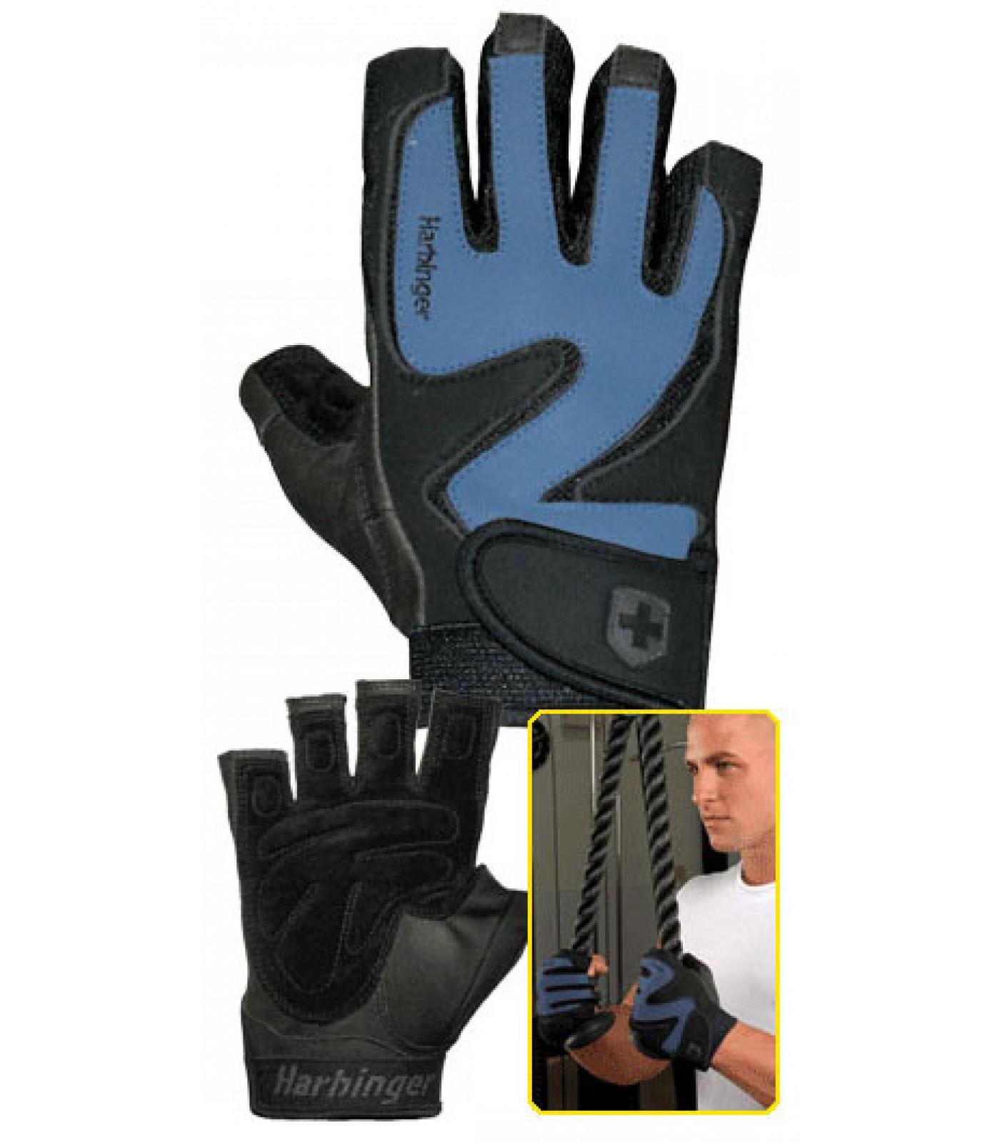 Harbinger - Training Grip - черно/син цвят
