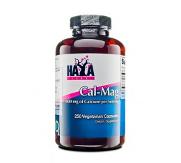 Haya Labs - Calcium & Magnesium / 250 Vcaps. Хранителни добавки, Витамини, минерали и др., Калций и Магнезий