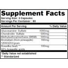 Haya Labs - Glucosamine Chondroitin & MSM Complex / 120 caps