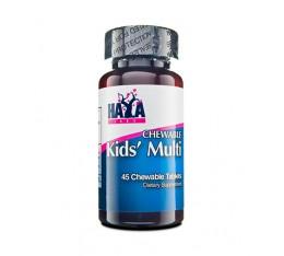 Haya Labs - Kid's Chewable Multivitamin / 90 caps. Хранителни добавки, Витамини, минерали и др., Мултивитамини