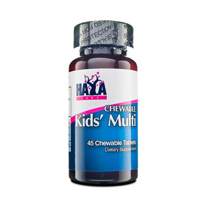 Haya Labs - Kid's Chewable Multivitamin / 90 caps.