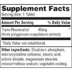 Haya Labs - Resveratrol 40mg  / 60 tab