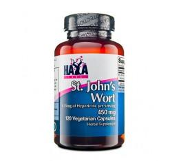 Haya Labs - St. John Wort 450mg / 120 caps Хранителни добавки, St. John's Wort, На билкова основа