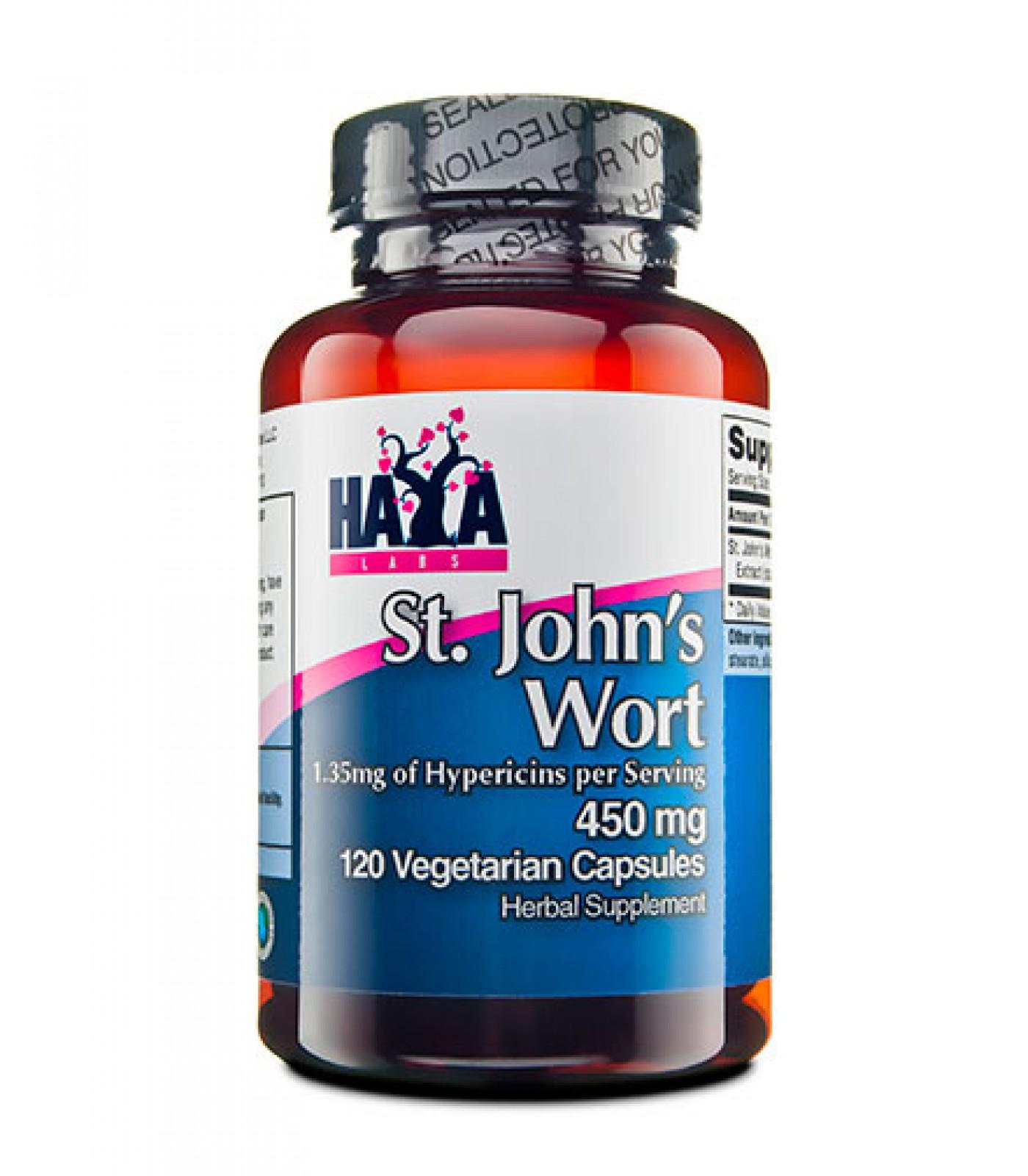 Haya Labs - St. John Wort 450mg / 120 caps