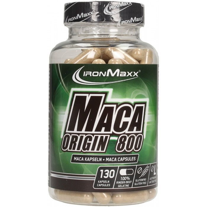 IronMaxx - Maca Origin 800 / 130 Caps.