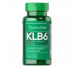 Puritan's Pride - KLB6 Kelp Complex / 100 дражета