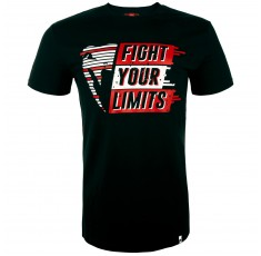 Тениска - Venum Fight your Limits T-Shirt - Black​