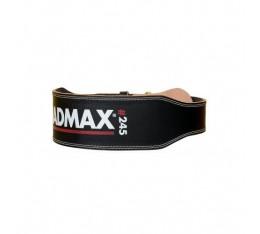 Колан за Фитнес - MadMax Full Leather Black Мъжки ръкавици за фитнес, Тренировъчни колани