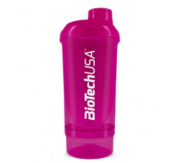 BIOTECH USA Wave+ Compact 500ml. + 150ml. / Magenta - Розов