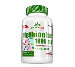 AMIX GreenDay METHIONINE 1000 mg / 120 Caps. Хранителни добавки, Аминокиселини, Метионин