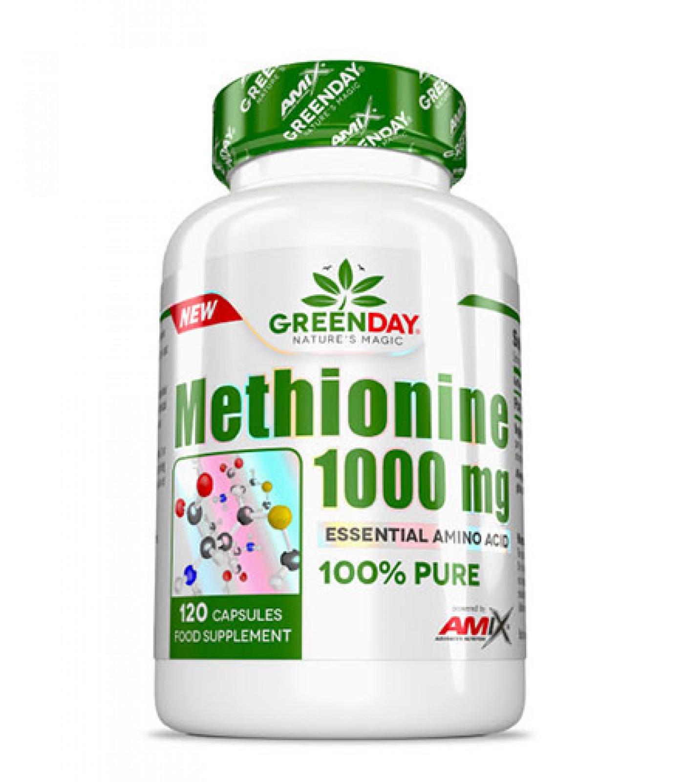 AMIX GreenDay METHIONINE 1000 mg / 120 Caps.