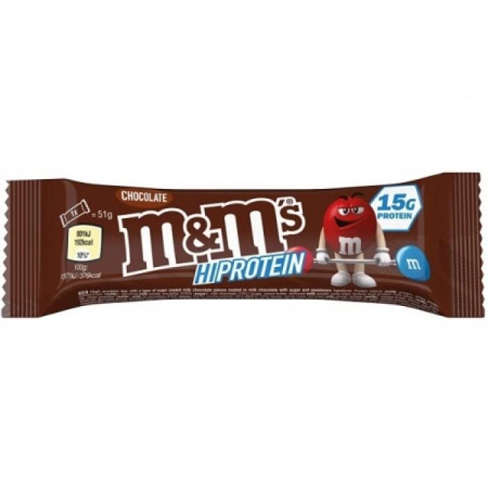 M&M's - M&M's HiProtein Bar / Chocolate / 51g
