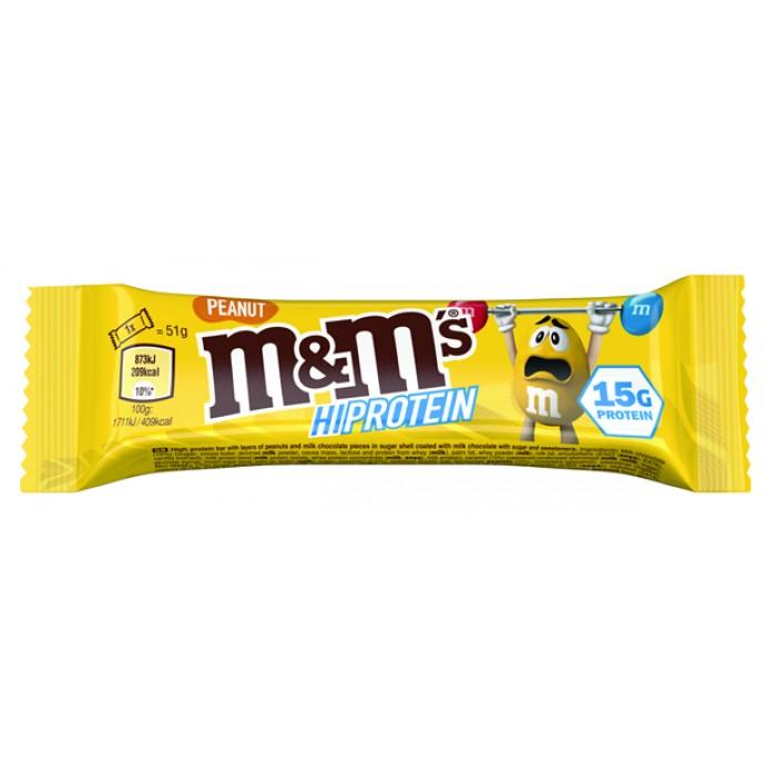 M&M's - M&M's HiProtein Bar / Peanut / 51g