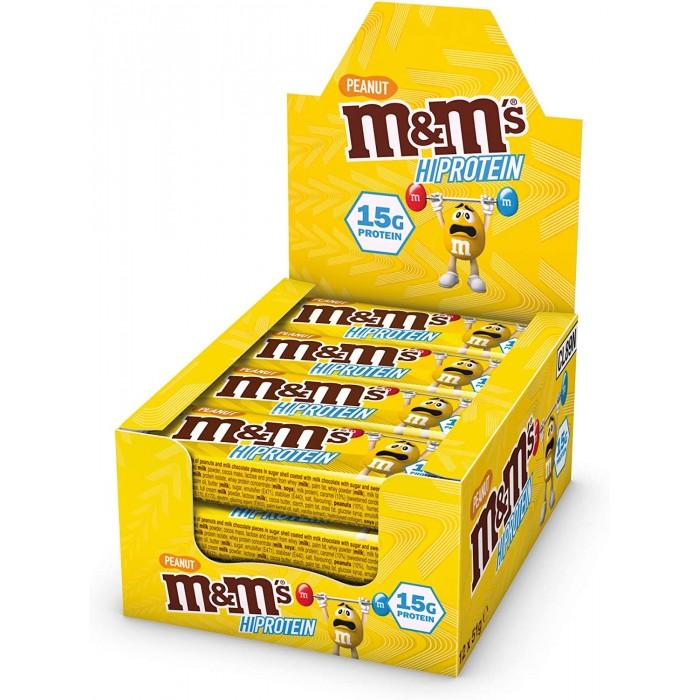 M&M's - M&M's HiProtein Bar / Peanut / 12 x 51g