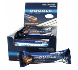 Multipower - Double Pro Bar / 24 x 60 gr Хранителни добавки, Протеини, Протеинови барове и храни