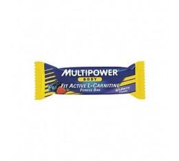 Multipower - Fit Active L-Carnitine Bar / 24 x 45 gr Хранителни добавки, Протеини, Протеинови барове и храни