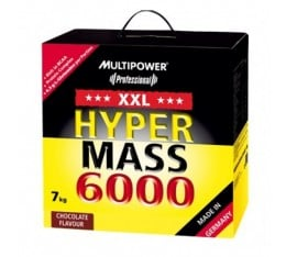 Multipower - Hyper Mass 6000 / 7000 gr Хранителни добавки, Гейнъри за покачване на тегло, Въглехидрати