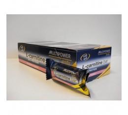 Multipower - L-Carnitine Bar 25% Protein / 24 x 35 gr Хранителни добавки, Протеини, Протеинови барове и храни