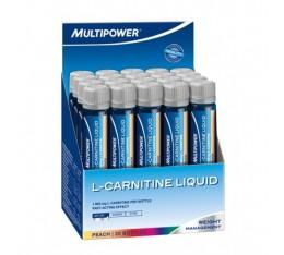 Multipower - L-Carnitine Liquid / 20 amp Хранителни добавки, Отслабване, Л-Карнитин
