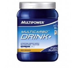 Multipower - Multi Carbo Drink+ / 6 x 660 gr Хранителни добавки, Гейнъри за покачване на тегло, Въглехидрати
