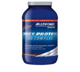 Multipower - Whey Protein ISO Complex / 750 gr Хранителни добавки, Протеини, Суроватъчен протеин