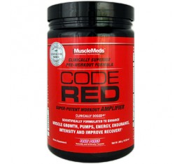MuscleMeds - Code Red / 300 gr. Хранителни добавки, Азотни/напомпващи