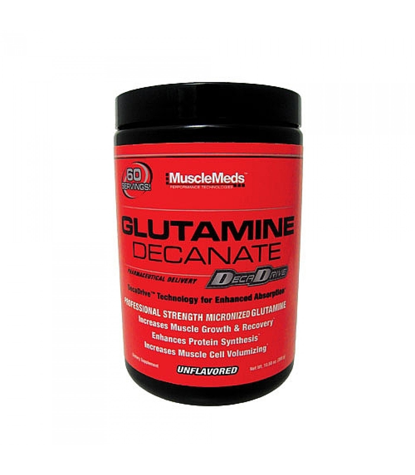 MuscleMeds - Glutamine Decanate / 300 gr.