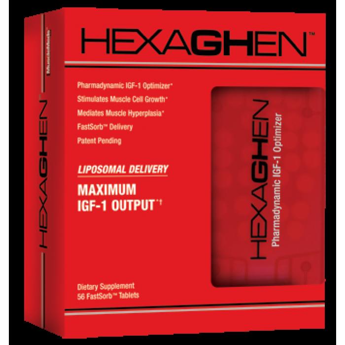MuscleMeds - Hexaghen / 56 tabs.