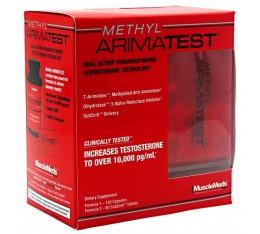 MuscleMeds - Methyl Arimatest / 120 caps. + 60 tabs.
